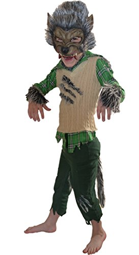Werewolf Halloween Kostüm Alter 4-5 Jahre