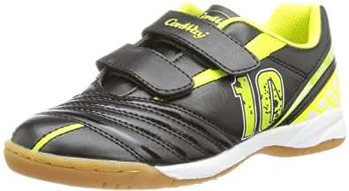 Conway Unisex - Child 710092 Indoor Shoes  Black Schwarz (Black/Yellow) Size: 39