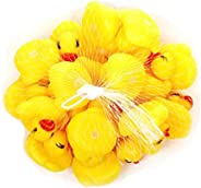 20 Pcs/lot Baby Floating Squeaky Rubber Ducks Kids Bath Toys for Children Boys Girls Water Swimming Pool Fun P