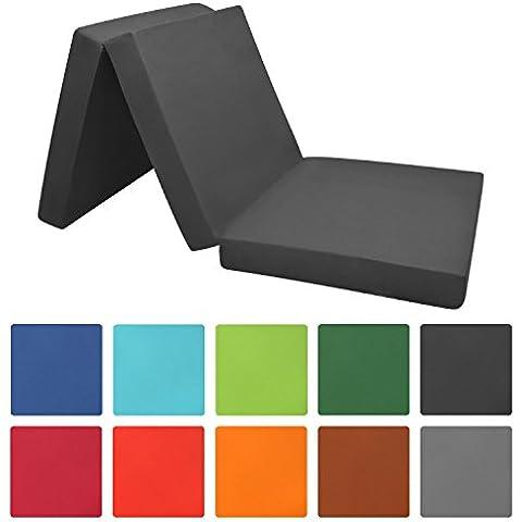 Materassino futon pieghevole - 190x60x7 cm -