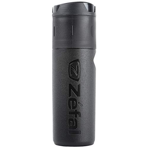 Zefal Z Box L Bidón-Porta Herramienta, Unisex Adulto, Negro, 800 ml