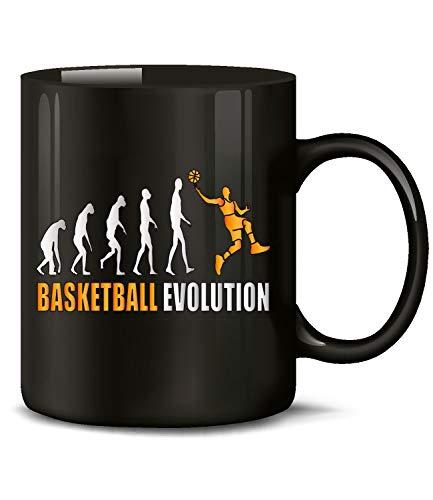 Evolution Fan Sport Tasse Becher Kaffee Artikel Männer Junge Geburtags Geschenk Idee Verein ()