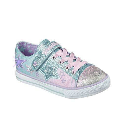 a4d5d5c09bca Skechers Kids Baby Girl s Enchanters 10539N (Toddler) Multi Sneaker 7  Toddler M