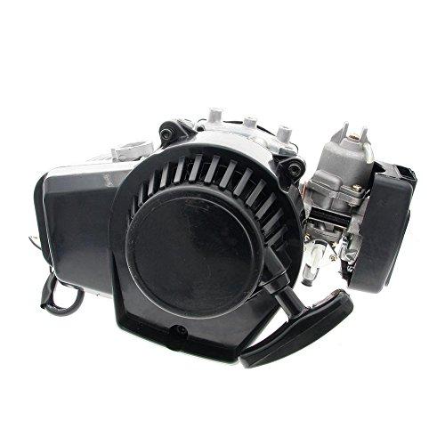 Niome 49CC 2-Takt-Motor Mini Pocket ATV Quad Motorisiert Fahrrad Gas Scooter Motoren (Mini-gas-chopper 49cc)