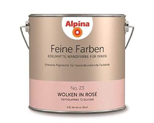 Alpina Feine Farben Wolken in Rosé 2,5 LT - 898609