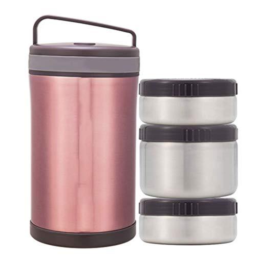 CH-Boîte à lunch isolante Isolierungsbrotdose-Edelstahltopf, der tragbares Vakuum des Étudiantst tragbares Super Langes Fass 12 Stunden brennt