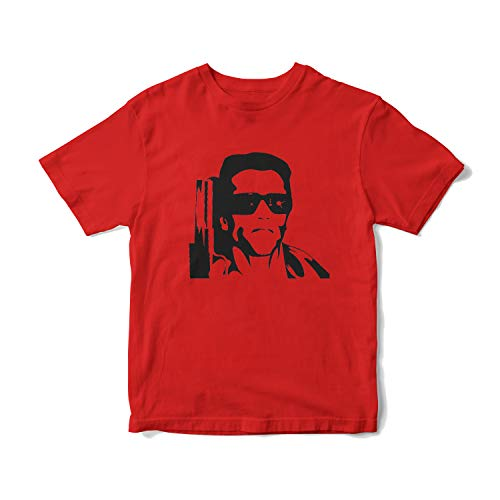 The Terminator Red T-shirt for Adults