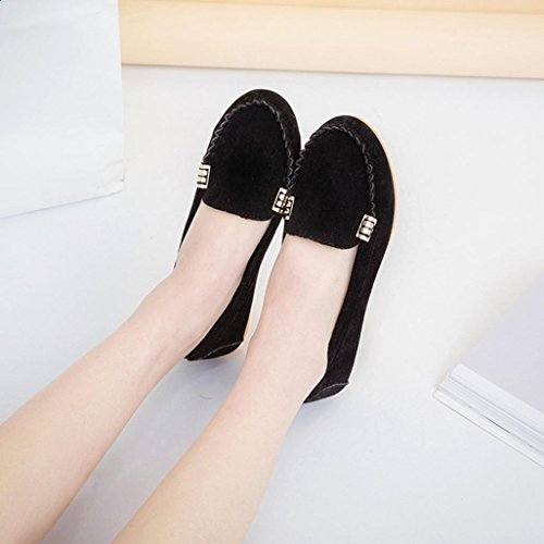 b07a0cf7e86 JYC 2018 Clearance Ladies Women Casual Flat Shoes Leather Loafers ...