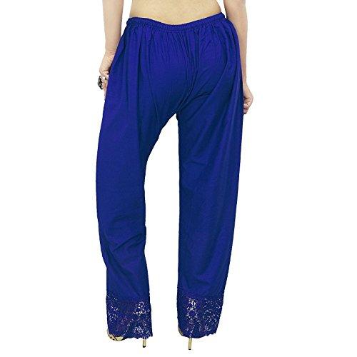 Femmes Hippie Baggy Yoga Sarouel Aladdin Harem Pantalons Bleu royal