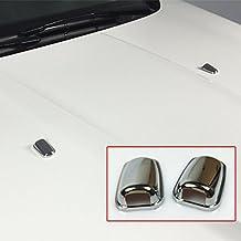 Boquilla de pulverización para limpiaparabrisas delantero, cromada, para Focus MK3 Mondeo MK4 C-