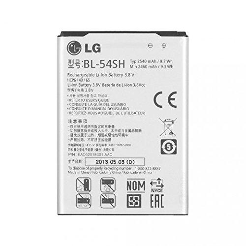 2540mAh 3.8V Rechargeable Li-ion Battery for LG Optimus LTE 3 BL-54SH F260S F260L F260K F260 F7