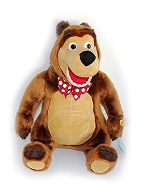 Großer Bär mit Hut aus Mascha und der Bär 48cm / Kuscheltier, Plüschbär, Stofftier / 48 cm Gross / Medved von Masha i medved