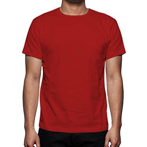 Neue Mens Gaffer Multi Pack viel reiner grundlegende Baumwolle lässig leere t-Shirt Top Red