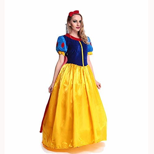 Für Klassische Kostüm Schneewittchen Erwachsene - Kostümparty Kostüme Halloween Kostüm Schneewittchen Prinzessin Kostüm Cosplay Kostüm Rollenspiel Kostüme (Größe : S)