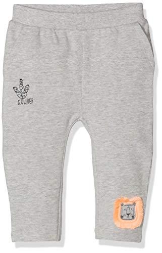 s.Oliver Baby-Jungen 65.904.75.4985 Hose, Grau (Grey Melange 9400), (Herstellergröße: 80)