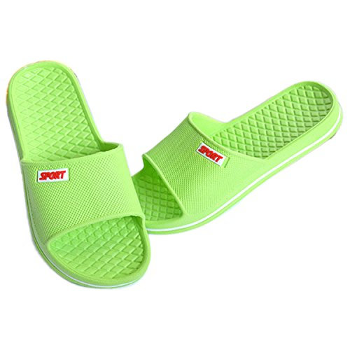 Sommer Männer Frauen Hausschuhe Bad Anti-Rutsch Hausschuhe Schuhe Grün