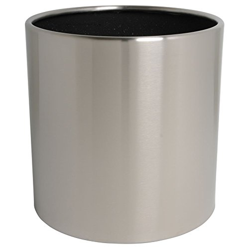 hydroflora 61422530 Pot à plante Value Line Cycle Budget diamètre 40 x 40 cm, en acier inoxydable V4A brossè mat
