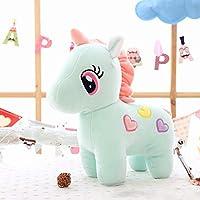 Tickles Blue Super Soft Plush Unicorn Toy Soft Stuffed for Kids Infants 25 cm