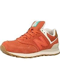 New Balance Calzado Deportivo Para Mujer, Color Naranja, Marca, Modelo Calzado Deportivo Para Mujer WL574 Sea Naranja