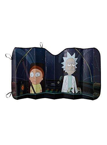 Rick y Morty Parabrisas Parasol Forma de acordeón