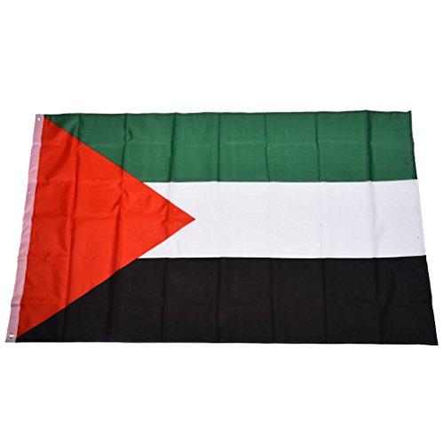 Sodial(r) palestina bandiera nazionale 5ft x 3ft