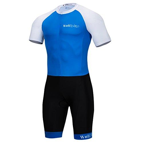 logas Vetement Trifonction Combinaison Triathlon Nage Manche Courte pour Homme