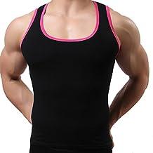 VENMO Camisetas de Tirantes, Hombres Gimnasio Sport Elástica Musculares Verano Camisetas sin mangas