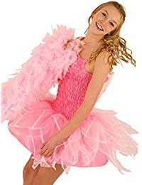 FRILLY LILY Small Size 8-10 Adult Fairy Pink Tutu Dress Short Skirt and Wings Pink Hen Night Festival