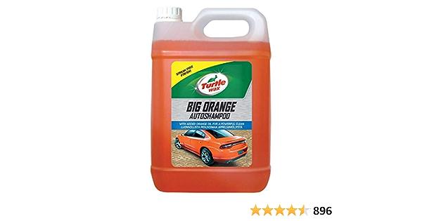 Turtle Wax 52817 Großes Orange Autoshampoo Mit Streifenfrei Finish 5 L Auto