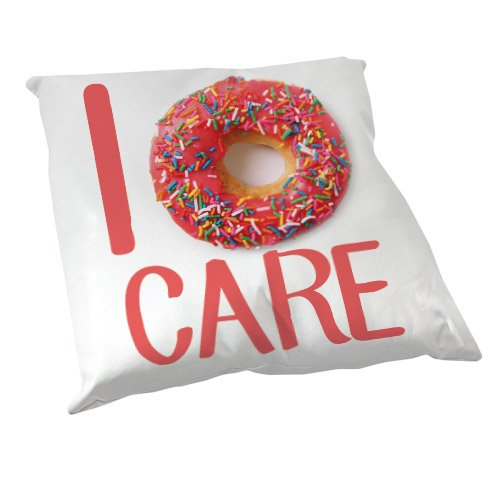 Coussin Décoration I Donut care / Yummy donuts - Fabriqué en France - Chamalow Shop