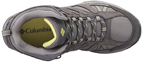 Columbia Dakota Drifter Mid Waterproof, Chaussures de Randonnée Basses Femme Gris - Grey (Light Grey/Sunnyside)