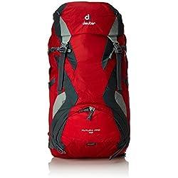 Deuter Futura Pro Mochila de Montaña, Unisex Adulto, Rojo (Fire / Granite), 42 l