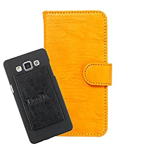 DooDa PU Leather Wallet Flip Case Cover With Card & ID Slots For XOLO Q1000 OPUS - Back Cover Not Included Peel And Paste