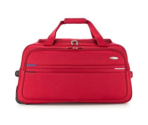Preisvergleich Produktbild Wittchen Reisetasche / Farbe: Rot / Polyester / Höhe (cm): 70 x Breite (cm): 35 / Kollektion: Trim Line / V25-10-479-30