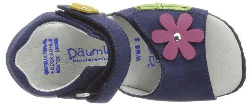 Däumling Funny - Franzi, Sandales Bride cheville fille bleu (Turino jeans42)