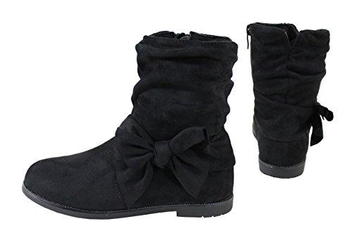 By Shoes Damen Stiefel Schwarz