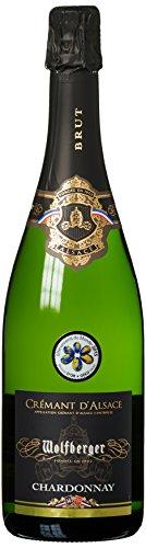 Wolfberger Crémant Chardonnay d'Alsace A.O.P. Brut Trocken (1 x 0.75 l)