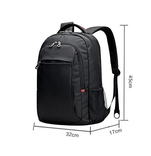 Umhängetasche Computer Tasche 14 6 Zoll Rucksack Reise Freizeit Paket Einfache Wilde Outdoor-Paket Black