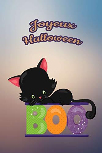 ur nos petits : Petit carnet de notes de 121 pages blanches avec couverture et pages sur le thème d'Halloween (Mon petit journal d'Halloween, Band 26) ()