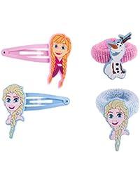 """SIX KIDS Disney """"Frozen - Die Eiskönigin"""" Set mit Haargummis und Haarspangen (304-463)"""