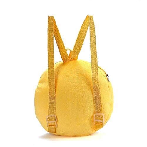 Sansee cute Emoji emoticon spalla scuola borsa zaino bambino zaino borsetta, Colour D Colour B