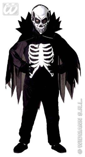 KINDERKOSTÜM - SCARY SKELETON - Größe 140 (Scary Jungen Für Kostüme Kinder Halloween)