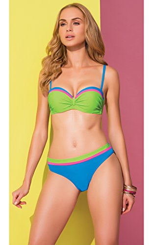 Merry Style Damen Push Up Bikini Set P509-53TSG Muster-4