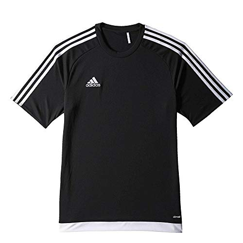 Adidas Men Estro 15 Jersey - Black White  Large