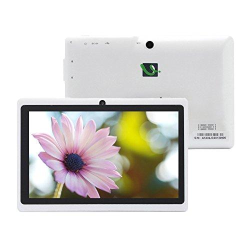 iRULU 16GB 7 pulgadas tablet PC Expro X1 1024 * 600 Android 4.4 KitKat WiFi Nueva (Blanco)