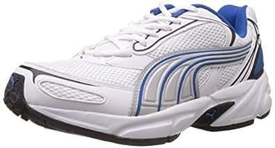 Puma Men's Aron Ind. White Running Shoes - 7 UK/India (40.5 EU)