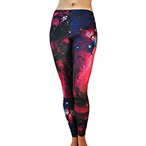 41ijmLP25qL. SS300  - Tamskyt Women's Full Length Yoga Leggings Fitness Running Pilates Tights Gym Skinny Pants 8/10 / 12 Stretchy