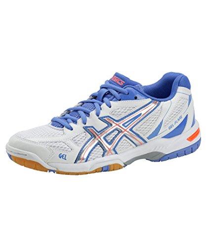 """Asics Damen Hallensportschuhe / Badminton-Schuhe """"Gel Flare 5 W"""" anthrazit mel. (602) 39,5EU"""
