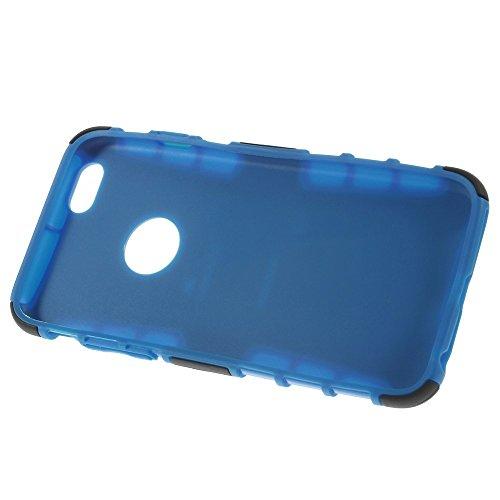iPhone 6S Schutzhülle mit Ständer, fogeek [Heavy Duty] Schutzhülle [iPhone 66S–4,7] 2in 1Dual Schichten Hart Weich Hybrid Rugged Drop stoßabsorbierenden Schutzhülle mit klappbare Ständer für iPho blau