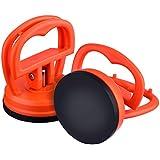 Outus 2 Packung 5,5 cm Dent Abzieher Auto Dent Saugnapf Auto Body Dent Abzieher Ausbau Werkzeug, Orange
